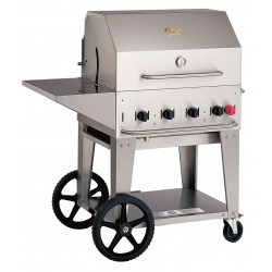Crown Verity - MCB-30 PKG NG - 64500 BtuH Natural Gas Stainless Steel Gas Grill