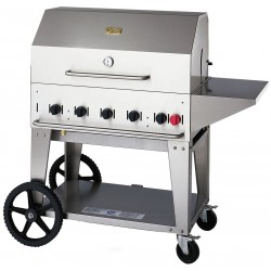 Crown Verity - MCB-36 PKG - 79500 BtuH Stainless Steel Gas Grill with One 20 lb. Tank
