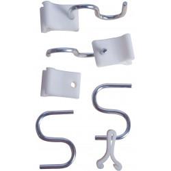 QEP - 8864 - Ceiling Hooks, Light Duty, 4 PK