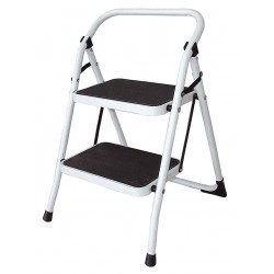 Other - 12M626 - Steel Folding Step, 36 Overall Height, 300 lb. Load Capacity, Number of Steps: 2