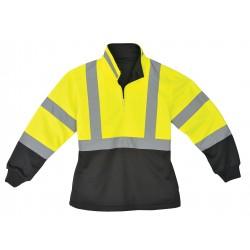 Utility Pro Wear - UHV667-L - Ladies Pullover, Hi-Vis, Lrg, Lime/Blk