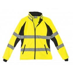 Utility Pro Wear - UHV668-M - Ladies Jacket, Hi-VisMed, Blk/Ylw
