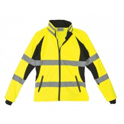 Utility Pro Wear - UHV668-XL - Ladies Jacket, Hi-Vis, XL, Blk/Ylw