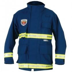 Fire Dex - PCCROSSTECHEMSN-3X - EMS Jacket, 3XL Fits Chest Size 58, Navy Color