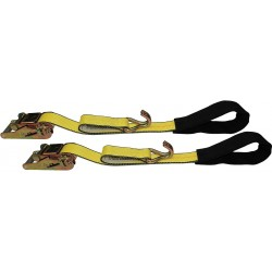 B/A Products - 38-105DJ - Tie-Down Strap, Ratchet, 5ft 4In x 2In, PR