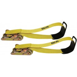 B/A Products - 38-107P - Tie-Down Strap, Ratchet, 5ft 3In x 3In, PR