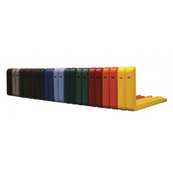 Spalding - 413311 - Red Backboard Padding, Fits 72 Glass Backboard, PK 2