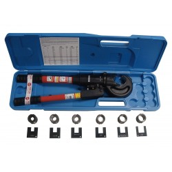 Loos - #3-K - Heat Treated Steel, Hydraulic Compression Hand Swaging Kit, 24 Overall Cutter L (In.)
