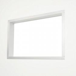 Porta-King - ACVK-WCM - AC Cutout Frame, 15-5/8Hx26W, White