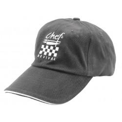 San Jamar - H064BK - Chef Baseball Cap, Black, One Size Fits All
