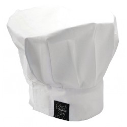 San Jamar - H400WH - Chef Hat, White, One Size Fits All