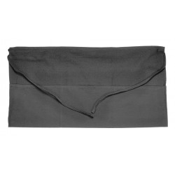San Jamar - 605WAFH-BK - 24 x 12 Waist Apron, Black, One Size Fits All