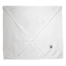 San Jamar - 603FW - 17 x 34 4-Way Apron, White, One Size Fits All