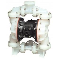 Sandpiper / Warren Rupp - S1FB3P1PPNI000 - Polypropylene Santoprene Single Double Diaphragm Pump, 53 gpm, 100 psi