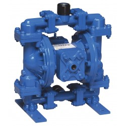 Sandpiper / Warren Rupp - S05B1ABWANS000 - Aluminum Buna Single Double Diaphragm Pump, 15 gpm, 100 psi