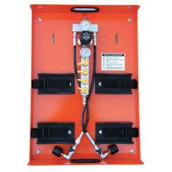 Air Systems - PAK-3 - Air Systems International PAK-3 PAK-3 Air Cylinder Cart (Cylinders Sold Separately), ( Each )