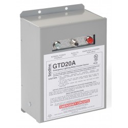 Philips - GTD20A - 45 mA (Sensing Circuit Only) Input Current, 20 Amp Max Output Current Emergency Lighting Relay Contr