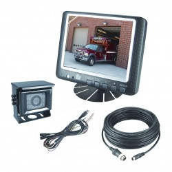 Federal Signal - CAMSET56-NTSC-2 - Back-Up Camera Systems, 5.6 Monitor
