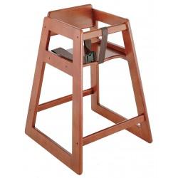 Koala Kare - KB800-24 - Dark Deluxe Wood High Chair