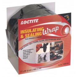 Loctite / Henkel - 1496756 - 2W Silicone Insulating and Sealing Tape, Black, 432 Length
