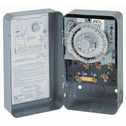 Invensys Controls - 8041-20 - Defrost Timer Control, 208/240VAC Voltage, Defrost Time (Minutes): 4 to 110
