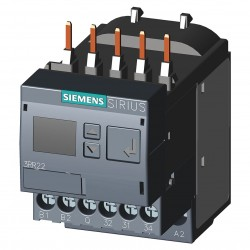 Siemens - 3RR22411FW30 - Current Monitoring Relay, 3 Phase, 1.6-16A