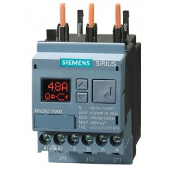 Siemens - 3RR22421FW30 - Current Monitoring Relay, 3 Phase, 4-40A
