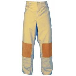 Fire Dex - FS1P00SL - Cotton, Turnout Pants, Size: L, Fits Waist Size 38, 30 Inseam