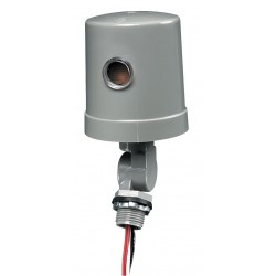 Intermatic - K1221 - Photocontrol, 105 to 130VAC Voltage, 1800 Max. Wattage, Turn-Lock Mounting