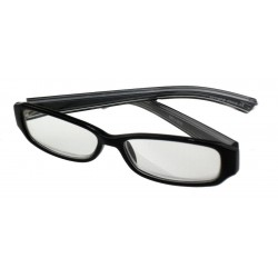 Optx 20/20 - FORERUNNER+250 - Clear Uncoated Bifocal Reading Glasses, +2.50 Diopter