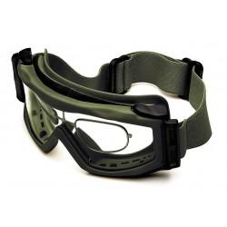 Optx 20/20 - BALGRX - Gray Anti-Fog Goggles with Prescription Inserts, +3.00 Diopter