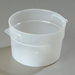 Carlisle FoodService - 020530 - 2 qt. Polypropylene Bains Marie Food Storage Container; PK12