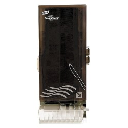 Dixie - SSKHWDSP08 - Knife Dispenser, Translucent Smoke, Height 24-1/2, Width 10, Depth 8-3/4