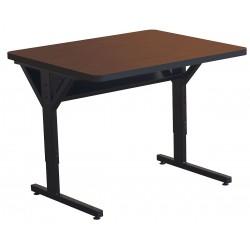 Balt / MooreCo - 58063-7928-BK - Computer Desk, 36 x 33-1/2 x 30, Med Oak