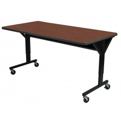 Balt / MooreCo - 58064-7928-BK - Computer Desk, 60 x 33-1/2 x 30, Med Oak