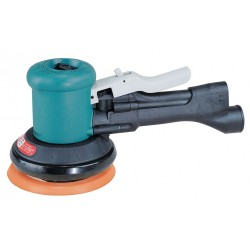 "Dynabrade - 58430 - Air Dual-Action Sander with 5"" Pad Size, Non-Vacuum, 3/16"" Orbit Dia."