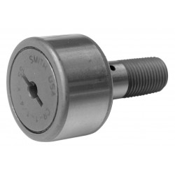 ABC (Accurate Bushing Company) - CR-1-1/2-XB-SS - 1.5000 Roller Dia. Flat Stud Cam Follower;Hex Socket Face Design