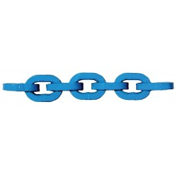Pewag - G12-12-20 - 20 ft. Grade 120 Straight Chain, 1/2 Trade Size, 17, 900 lb. Working Load Limit, For Lifting: Yes