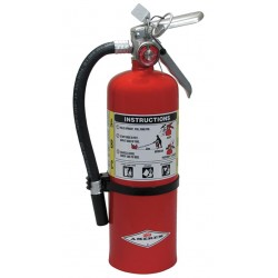 Amerex - B402 - Dry Chemical Fire Extinguisher with 5 lb. Capacity and 14 sec. Discharge Time