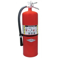 Amerex - A411 - Dry Chemical Fire Extinguisher with 20 lb. Capacity and 30 sec. Discharge Time