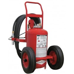 Amerex - 450 - Dry Chemical, ABC Class Wheeled Fire Extinguisher with 125 lb. Capacity and 52 sec. Discharge Time