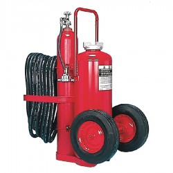 Amerex - 469 - Dry Chemical, BC Class Wheeled Fire Extinguisher with 125 lb. Capacity and 52 sec. Discharge Time