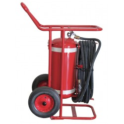 Amerex - 673 - Dry Chemical, BC Class Wheeled Fire Extinguisher with 65 lb. Capacity and 22 sec. Discharge Time