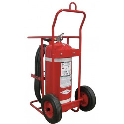 Amerex - 674 - Dry Chemical, ABC Class Wheeled Fire Extinguisher with 150 lb. Capacity and 38 seg. Discharge Time