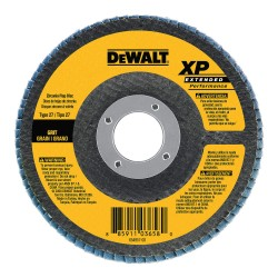 Dewalt - DW8255 - Flap Disc, 4.5 In, 5/8-11 AH, 60G, T27, ZA
