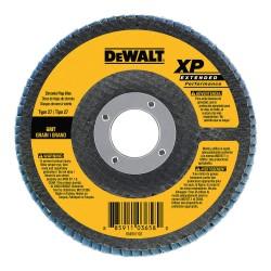 Dewalt - DW8256 - DeWALT DW8256 4-1/2'' x 5/8''-11 Threaded Hub 80 Grit XP Flap Disc (5 pack)