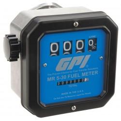 GPI - MR 5-30 G8N - 5 to 30 gpm Mechanical Mechanical Flowmeter
