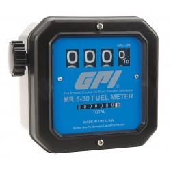GPI - MR 5-30 G12N - 5 to 30 gpm Mechanical Mechanical Flowmeter