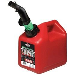 Briggs & Stratton - 85013G - Gas Can, 1 Gal., Red, Self Vent, Poly