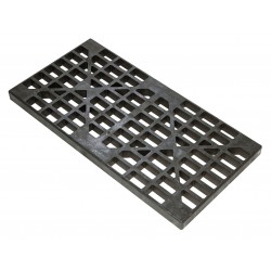 "Justrite - 28259 - Justrite 24"" X 2.5"" X 48"" Black Polyethylene Replacement Drum Grate"